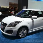 Suzuki Swift Sport front three quarters at the 2014 Paris Motor Show