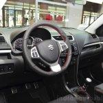 Suzuki Swift Sport interior at the 2014 Paris Motor Show