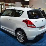 Suzuki Swift Sport rear three quarters at the 2014 Paris Motor Show