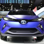 Toyota C-HR Concept front at the 2014 Paris Motor Show