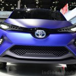 Toyota C-HR Concept front fascia at the 2014 Paris Motor Show