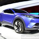 Toyota C-HR Concept front three quarters left at the 2014 Paris Motor Show