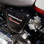 Triumph Bonneville NewChurch lettering at the INTERMOT 2014