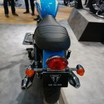 Triumph Bonneville Spirit saddle at the INTERMOT 2014