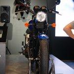 Triumph Bonneville T214 front at the INTERMOT 2014
