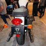 Triumph Bonneville T214 taillamp at the INTERMOT 2014