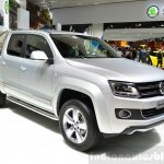 VW Amarok Ultimate front three quarters at the 2014 Paris Motor Show