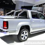 VW Amarok Ultimate rear three quarters at the 2014 Paris Motor Show