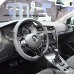 VW Golf Alltrack dashboard at the 2014 Paris Motor Show