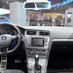 VW Golf Alltrack interior at the 2014 Paris Motor Show
