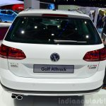 VW Golf Alltrack rear at the 2014 Paris Motor Show