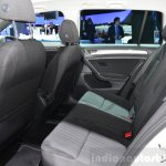 VW Golf Alltrack  rear seats at the 2014 Paris Motor Show