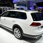 VW Golf Alltrack rear three quarter at the 2014 Paris Motor Show