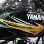 Yamaha YBR 110 tank at the 2014 Colombo Motor Show Sri Lanka