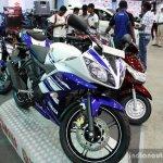 Yamaha YZF-R15 at the 2014 Colombo Motor Show Sri Lanka