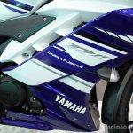 Yamaha YZF-R15 fairing at the 2014 Colombo Motor Show Sri Lanka