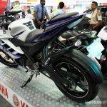 Yamaha YZF-R15 rear three quarter at the 2014 Colombo Motor Show Sri Lanka