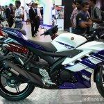 Yamaha YZF-R15 side at the 2014 Colombo Motor Show Sri Lanka