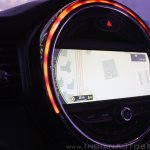 2014 MINI 5 door center screen lighting launch