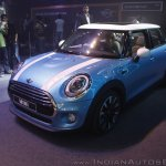 2014 MINI 5 door front quarter launch