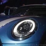 2014 MINI 5 door headlight launch