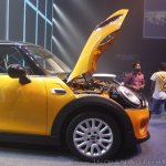 2014 Mini 3-door hood launch