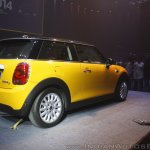 2014 Mini 3-door rear quarter launch