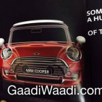 2014 Mini Cooper brochure scan