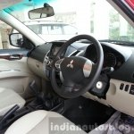 2014 Mitsubishi Pajero Sport facelift dashboard India