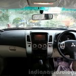 2014 Mitsubishi Pajero Sport facelift interior India