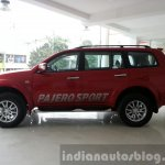 2014 Mitsubishi Pajero Sport facelift side India