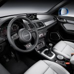 2015 Audi Q3 facelift dashboard