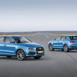 2015 Audi Q3 facelift front and rear quarter
