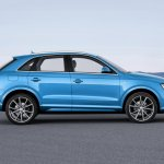 2015 Audi Q3 facelift profile