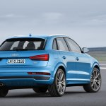 2015 Audi Q3 facelift rear fascia