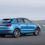 2015 Audi Q3 facelift rear right three quarter