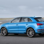 2015 Audi Q3 facelift rear three quarter left