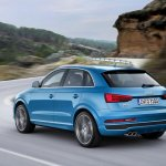 2015 Audi Q3 facelift rear three quarter
