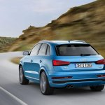 2015 Audi Q3 facelift silencer