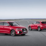 2015 Audi RS Q3 facelift front and rear three quarter