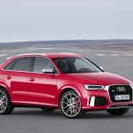 2015 Audi RS Q3 facelift front three quarter