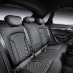 2015 Audi RS Q3 facelift rear seat