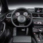 2015 Audi RS Q3 facelift steering wheel