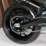 2015 BMW F 800 R rear wheel at EICMA 2014