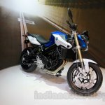2015 BMW F 800 R side quarter at EICMA 2014