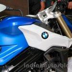 2015 BMW F 800 R tank design at EICMA 2014