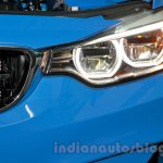 2015 BMW M3 headlamp and grille for India