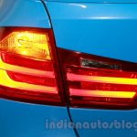 2015 BMW M3 taillamp glow for India