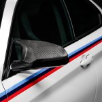 2015 BMW M4 with M Performance accessories ORVM cover