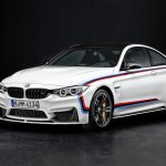2015 BMW M4 with M Performance accessories decals